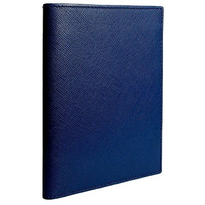 Saffiano Bi-Colored Passport Sleeve