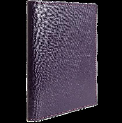 Saffiano Passport Sleeve Bordeaux