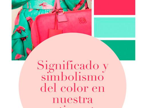 Significado y simbolismo del color en nuestra vestimenta.