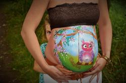 Babybauchbemaltung Berlin