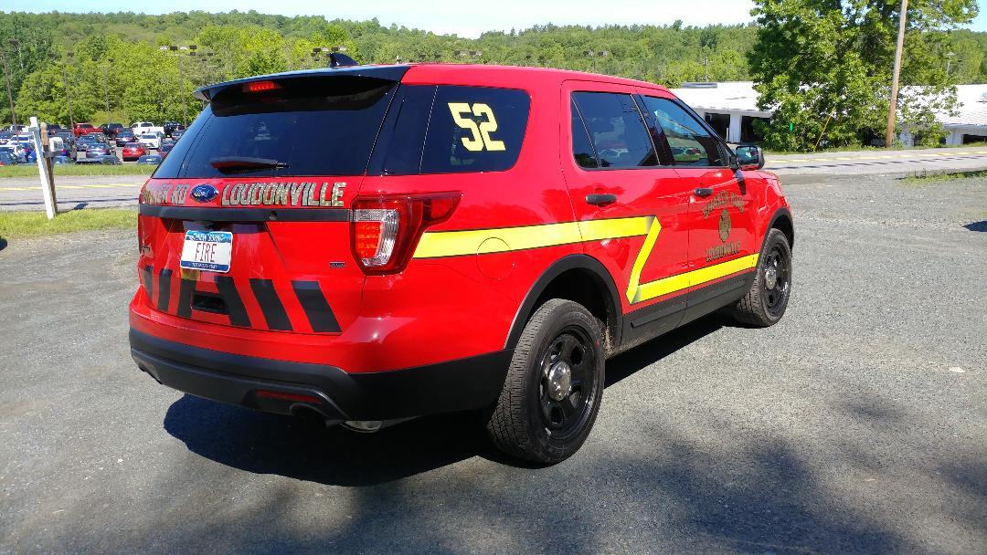 Shaker Rd LoudonVille Fire 2