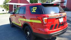 Shaker Rd LoudonVille Fire