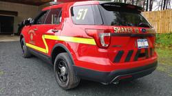 Shaker Rd LoudonVille Fire  3