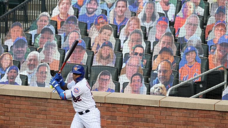 Yoenis Cespedes of the New York Mets, Al Bello/ Getty Images