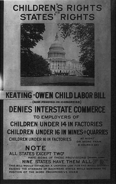 Child Labor, Exhibit Panel - Library of Congress