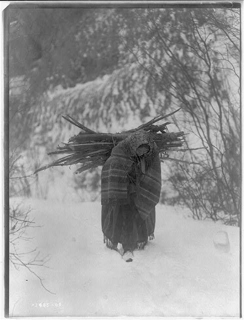 A Heavy Load: Edward S. Curtis Collection (Library of Congress)