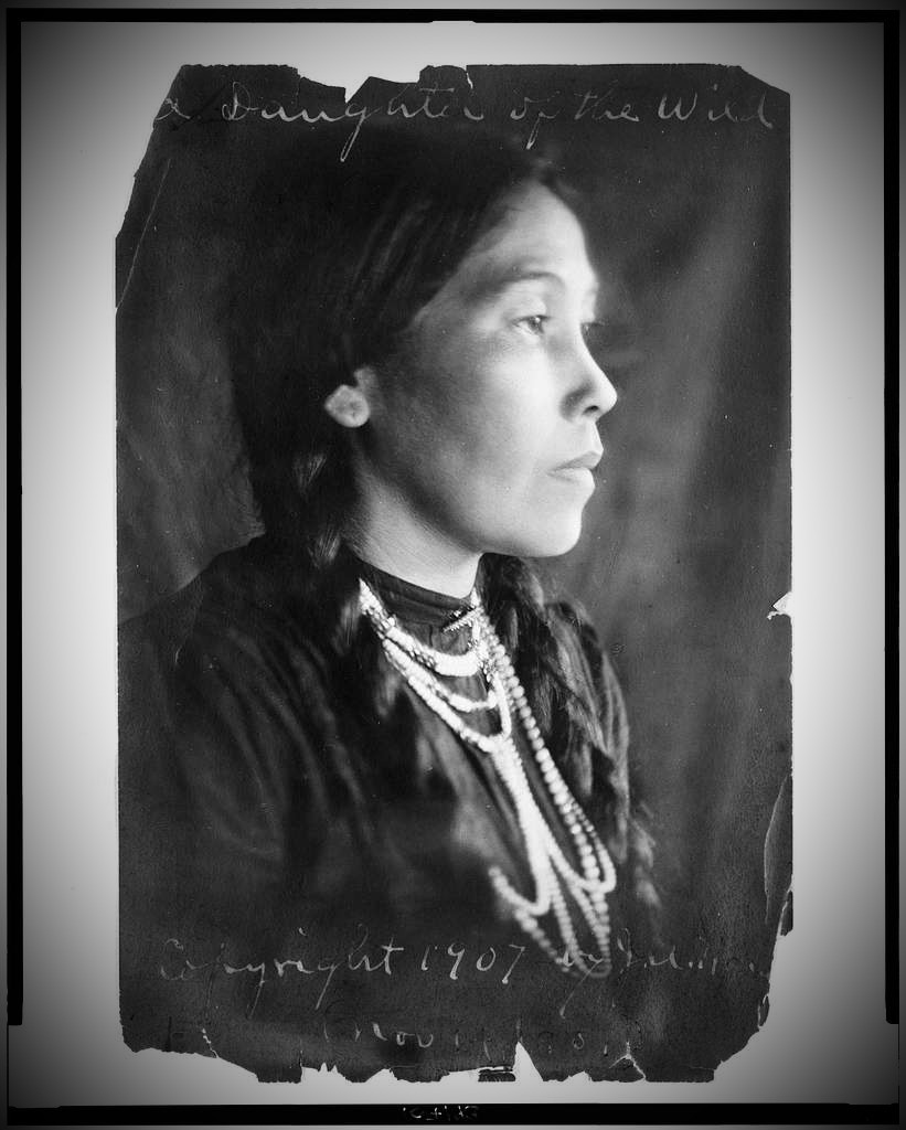 Daughter of the Wild, Library of Congress, Public Domain