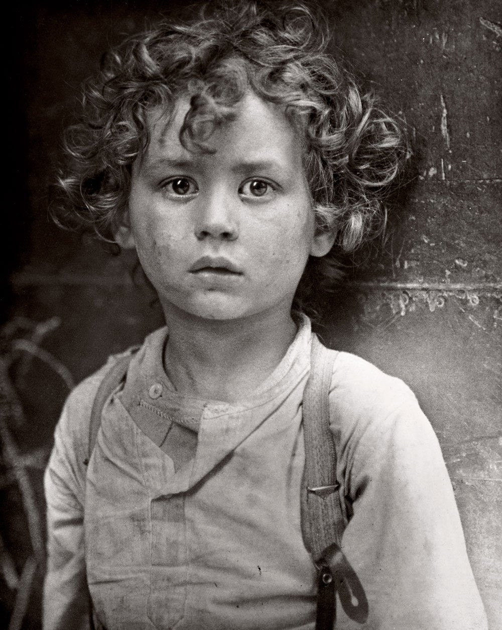 Little Boy, Lewis Hine