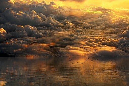 Clouds, Sky, Magical, CCO