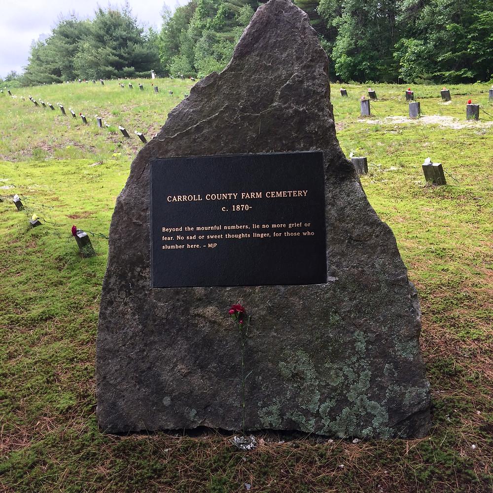 Carroll County Farm Cemetery Monument, NH