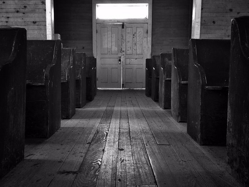 From Half Orphan to Orphan:  Sitting in the First Pew