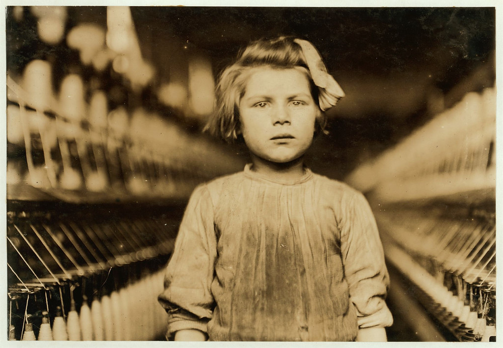 Lewis Hine Collection - Little Spinner
