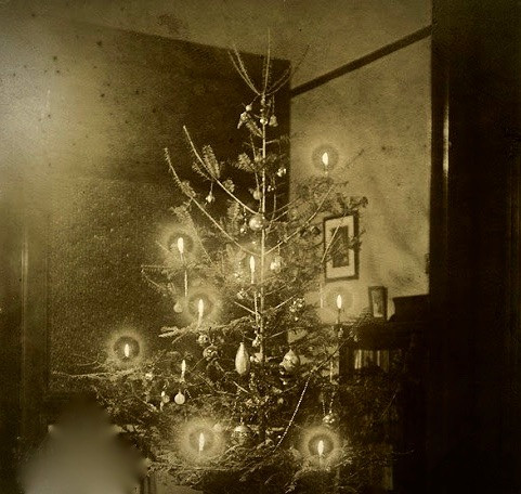 Nineteenth-Century Christmas Tree