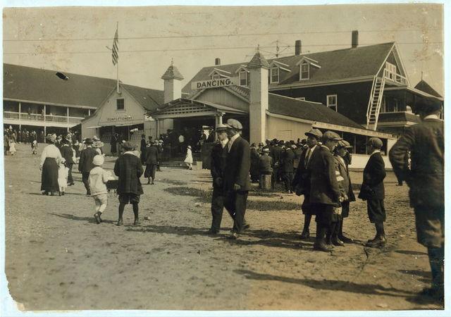 Dance Hall: Fall River, Massachusetts / Lewis W. Hine.