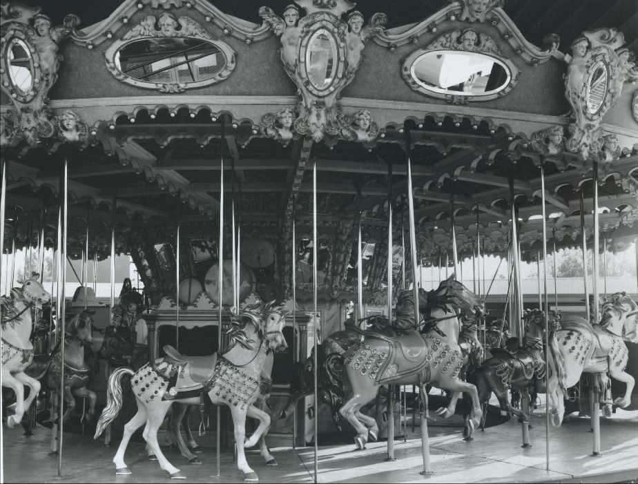 Vintage Merry-go-Round, Public Domain