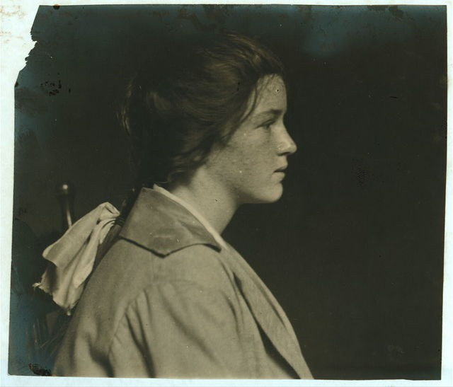 Evelyn Casey, Fall River, Lewis Hine Collection