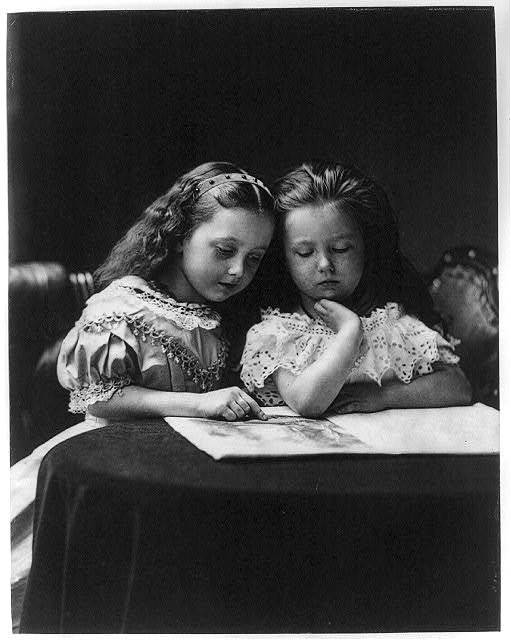 Two Girls, Henry Peach Robinson, 1869