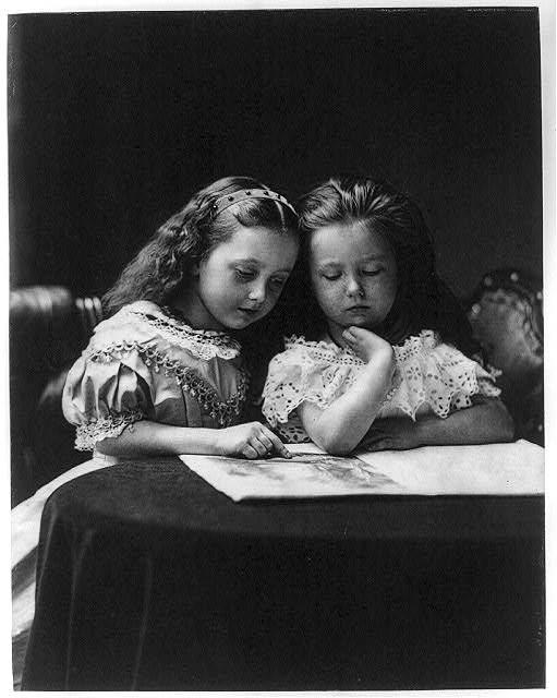 Two Girls, Henry Peach Robinson, 1869