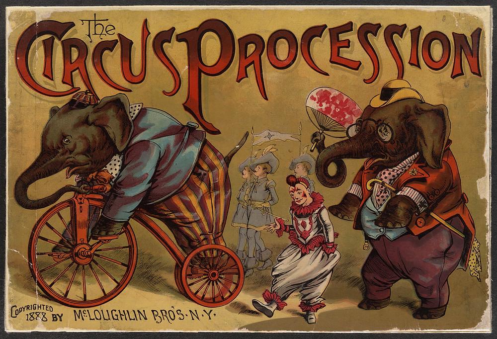 Circus Poster, Public Domain