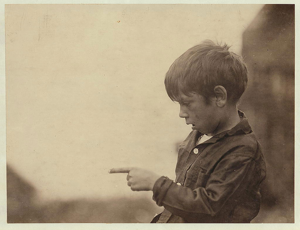Lewis Hine, Boy, Maine