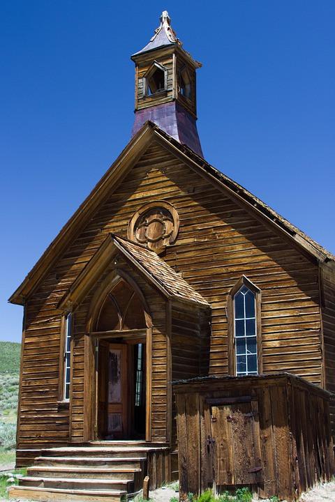 Abandoned Church, CCO