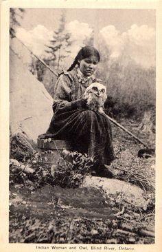 Native American Girl, Public Domain