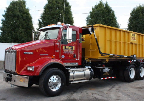 Roll off dumpster services in Boston