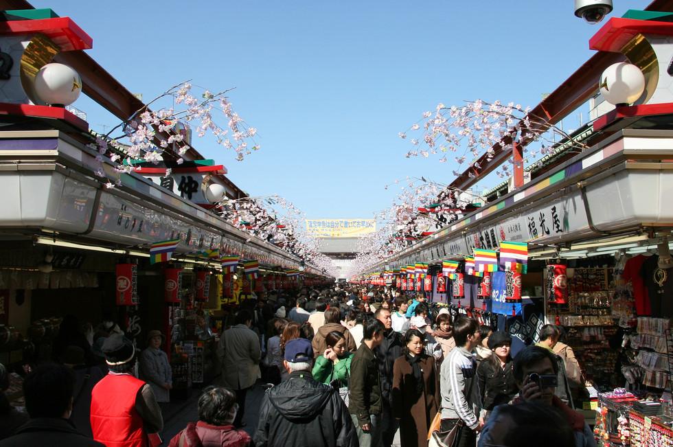 Nakamise Shopping Street, Tokyo, Japan