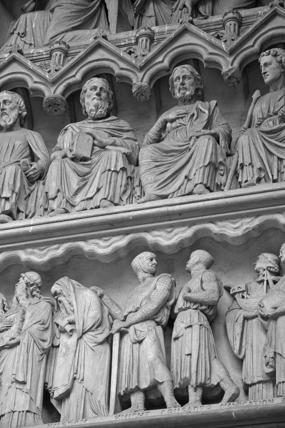 Statues, Westminster Abbey, London