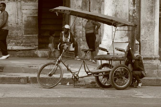 Rickshaw, Havana, Cuba