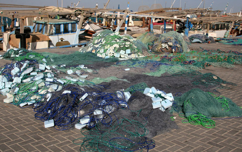 Fishing Nets, Al Khor Harbour, Qatar