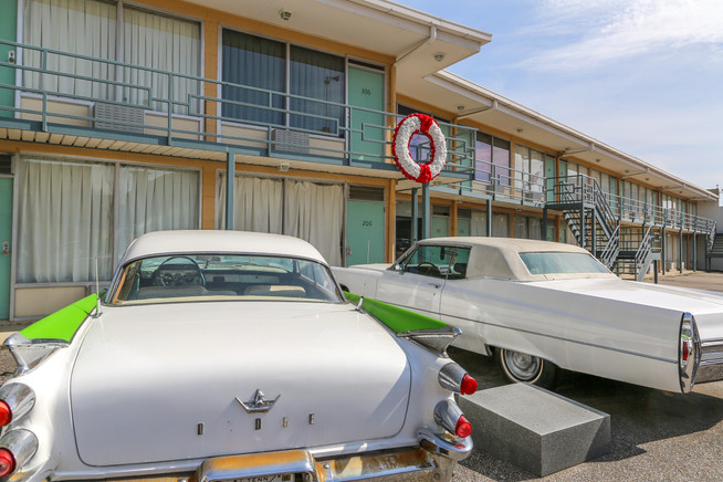 Lorraine Motel, site of Martin Luther King Jr assassination, Memphis, Tennessee, USA