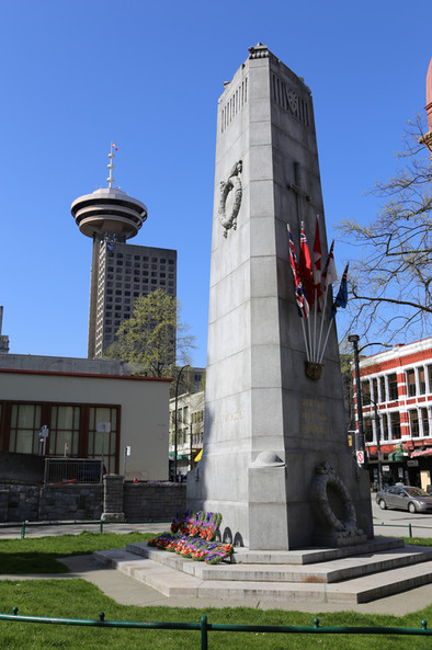 Victory Square, Vancouver, BC, Canada