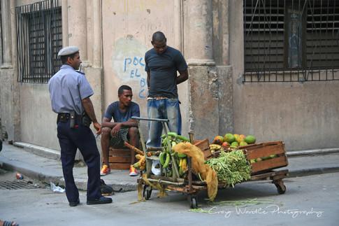 Street Vendors, Havana, Cuba