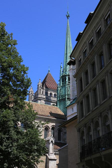 St. Peter's Cathedral, Geneva, Switzerland