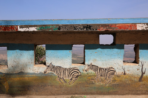Mural, Great Rift Valley, Kenya