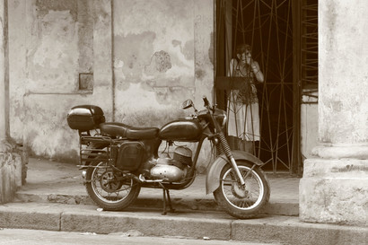 Lady, Havana, Cuba