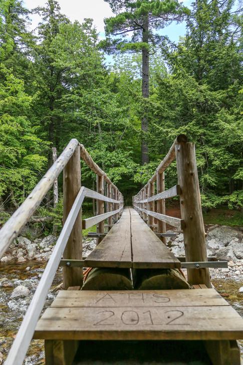 West River Trail, Adirondacks, New York, USA