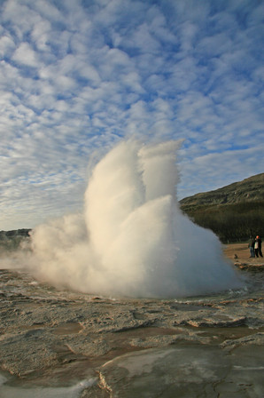Great Geysir, Thingvellir National Park, Iceland