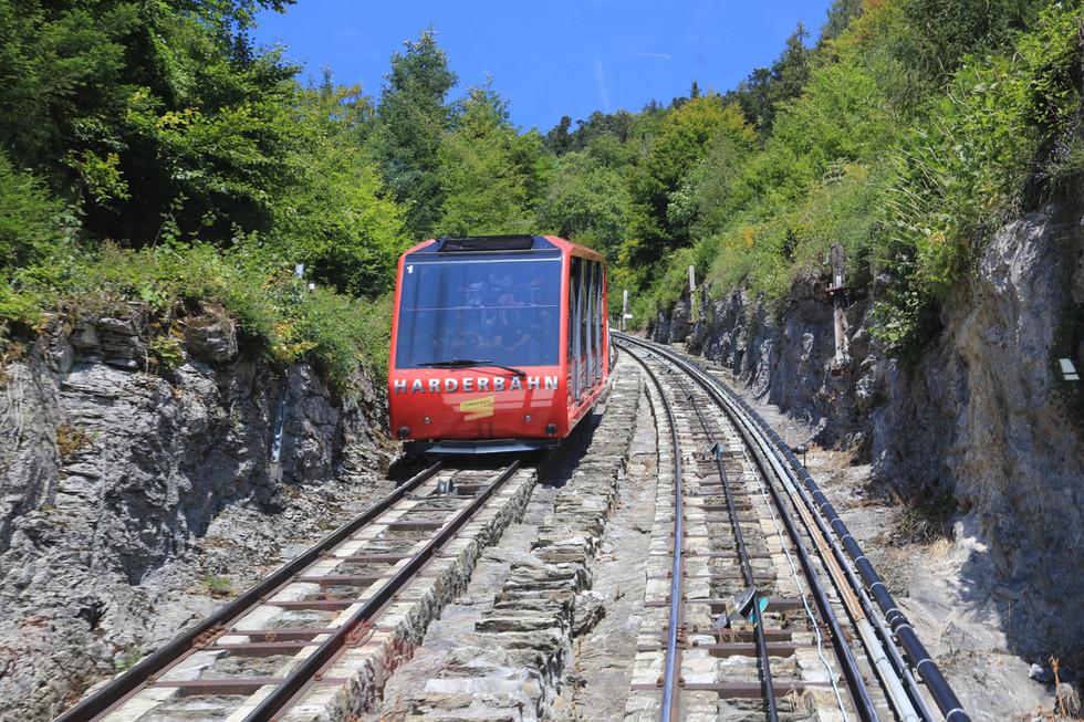 Funicular, Interlaken, Switzerland