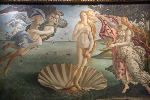 Goddess Venus, Uffizi Gallery, Florence, Italy