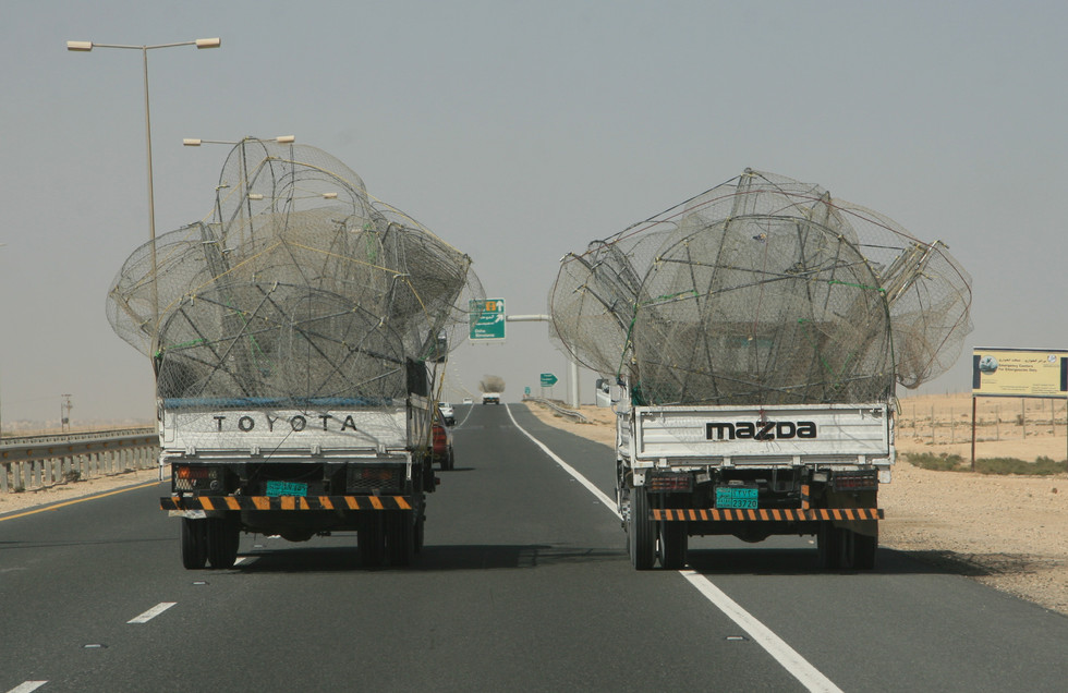 Driving, Doha, Qatar