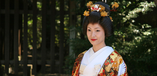 Japanese Bride, Tokyo, Japan