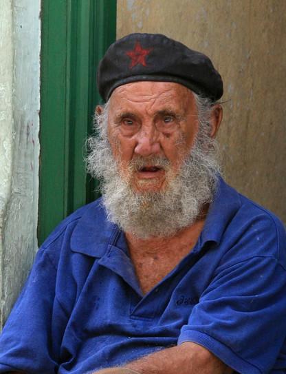 Cuban local, Havana, Cuba