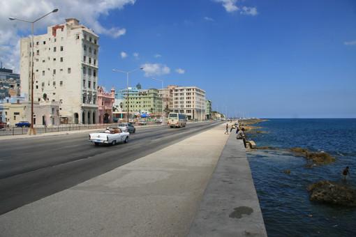 Malecon (Seawall Promwnade), Havana, Cuba