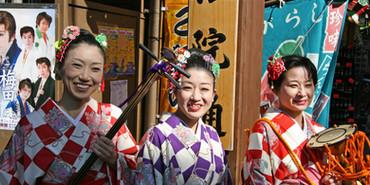 Musicians, Tokyo, Japan