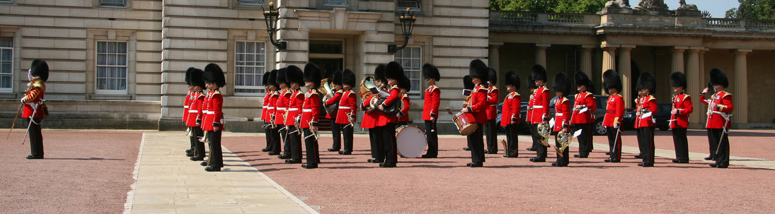 Queen's Guards, London, England