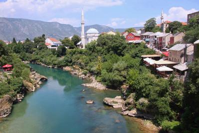 Neretna River, Mostar, Bosnia