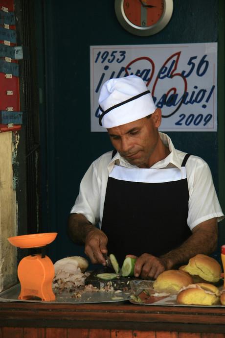 Trader, Havana, Cuba