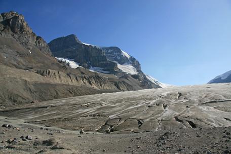 Athabasca Glacier, Alberta, Canada